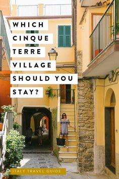 Best Cinque Terre Hotels Where should you stay