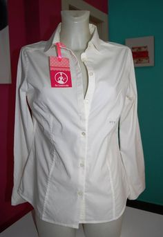 CAMICIA DONNA PEUTEREY BIANCA TG46 Coat, Jackets, Fashion, Down Jackets, Moda, Sewing Coat, Fashion Styles, Coats, Jacket