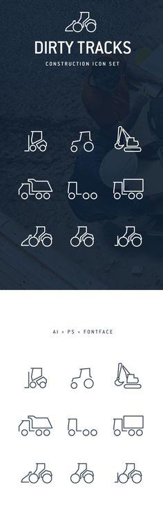 Dirty Tracks Free Flat Icons