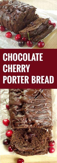 Chocolate Cherry Porter Bread