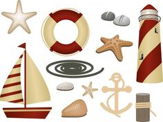 Wallmonkeys Nautical Symbols Peel and Stick Wall Decals WM16062 (60 in W x 45 in H) -- Wow! I love this. Check it out now! (This is an amazon affiliate link. I may earn commission from it)