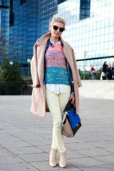 Favorite Street Style From London Fashion Week, Day Two. Laura Hoffman.