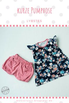 floral remnant recycling - Rumpeltuni and short blooming pants - EGG-exclusive - Jacklyn Clothing Fashion Kids, Fashion 2020, Fashion Trends, Kids Outfits, Summer Outfits, Summer Dresses, Toddler Outfits, Sewing Dress, Rebecca Minkoff