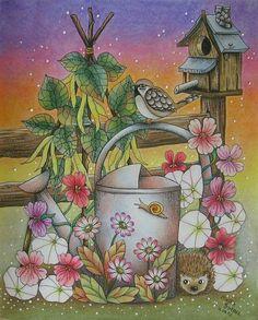Maria Trolle Blomster Mandala  coloring book