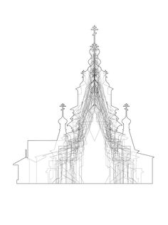 architectural-review:  RIBA 2013 President's Silver medal went to Ben Hayes. This is a typological study of neglected churches completed as part of his winning project 'Kizhi Island'