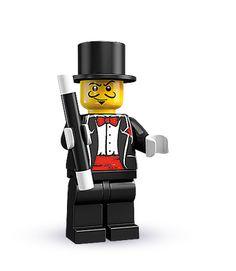 Lego CMF Sammelfigur Serie 6 Bandit