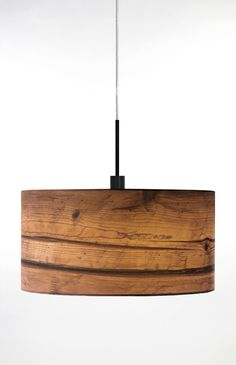 Globen Lighting Wood One Light Pendant in Brown | Wayfair UK
