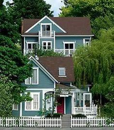 Tucker House Inn Bed & Breakfast, Friday Harbor, San Juan Island, Washington. Loved it <3