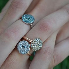 Druzy Ring, Rocks, Fine Jewelry, Fashion, Moda, La Mode, Fasion, Stone, Fashion Models