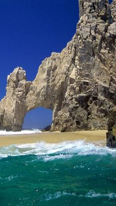 Lands End in Cabo San Lucas, Baja California Sur, Mexico.  Go to www.YourTravelVideos.com or just click on photo for home videos and much more on sites like this.