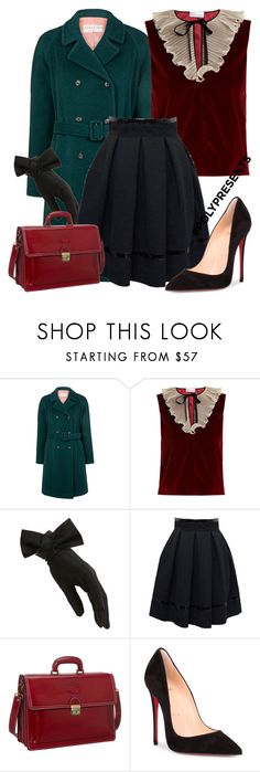 """""""#PolyPresents: New Year's Resolutions"""" by bellatrix87 ❤ liked on Polyvore featuring Paul & Joe Sister, RED Valentino, Tamara Mellon, SHARO, Christian Louboutin, contestentry and polyPresents"""