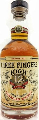 Three Fingers High aged 12 yrs Canadian Whisky