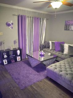 Cute Living Room, Living Room Decor Colors, Decor Home Living Room, Glam Living Room, Cute Room Decor, Teen Room Decor, Living Room Designs, Girl Apartment Decor, Apartment Ideas
