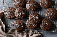 Salty Black Licorice Brownie Cookies recipe on Food52