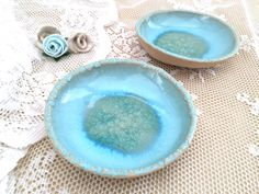 Check it out: VIBceramics on Etsy: Small bowl - Mother's Day Gift Wedding Gift Hostess Gift Light blue Pottery (19.00 USD) #handmadeceramics #bestgiftsforher