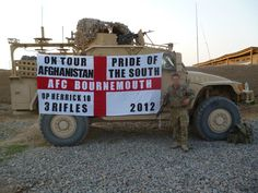 They get everywhere Afc Bournemouth, Afghanistan, Monster Trucks