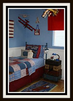 1000 Images About Boy S Airplane Room On Pinterest Boys