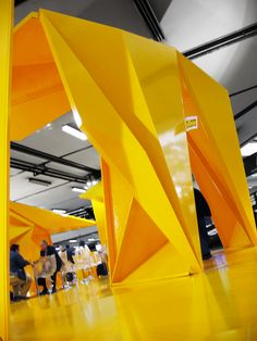 Polyester Pavilion for Sika, Madrid and Barcelona, 2008-2009 by SMAR