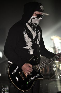 Charlie Scene, Hollywood Undead lead vocalist