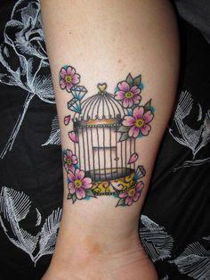Birdcage tattoo. #tattoo #tattoos #ink