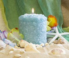 Hearth Candle ~ Pure Paradise warmglow.com