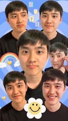 Kyungsoo, Exo Chanyeol, Walpapers Cute, Cute Boys, Learn Korea, Preppy Stickers, Exo Ot12, Exo Do, Do Kyung Soo