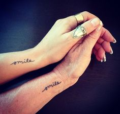 Love all of these mother daughter tattoos! http://thestir.cafemom.com/beauty_style/187679/21_mother_daughter_tattoos_that