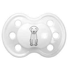 Entlebucher Mountain Dog Cartoon Pacifier
