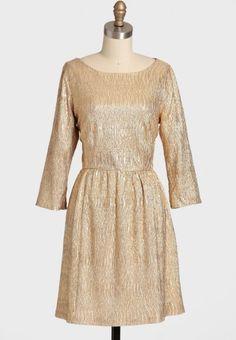 Golden Beauty dress, $54.99, dorothy perkins