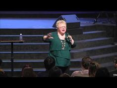 Becky Fischer at Christ for the Nations