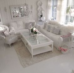 37 White and Silver Living Room Ideas That Will Inspire You Home Decor Bliss Living Room Decor Bliss Decor Home Ideas Inspire Living Room silver White Sitting Room Decor, Living Room Decor Cozy, Chic Living Room, Living Room Modern, Living Room Interior, Home Decor Bedroom, Home Living Room, Living Room Designs, Small Living