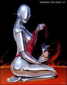 80s Sexy Robots by Sorayama