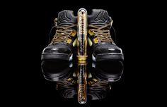 These Custom Air Jordan Vs are Draped Up In Versace
