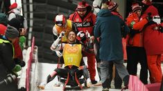 Canada's luge relay team slides to silver