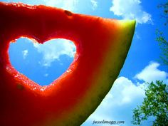 Nothing like sweet watermelon on a hot summer day ;)