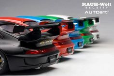 Model cars On sale! Porsche Motorsport, Porsche 993, Rauh Welt, Cars For Sale, 18th, Japan, Model, Green, Cars For Sell