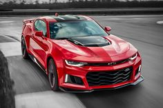 It might share its name with the mullet-piloted muscle cars of your youth, but the 2017 Chevrolet Camaro ZL1 is far from those bare-bones affairs. It's powered by a supercharged 6.2L V-8 producing 640 hp, paired to either a rev-matching...
