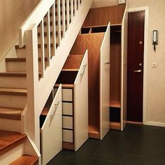 "This gives ""there's space under the stairs"" a whole bigger meaning"