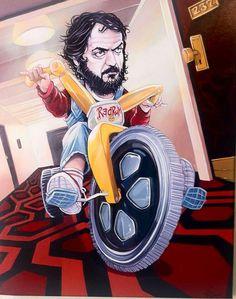The Shining fan art. Stanley on the trike