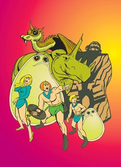 Herculoids with Bloop and Bleep!