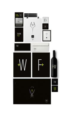 Food+Wine by Olivier Campanha (Branding restaurant) by Marios G. Kordilas, via Behance