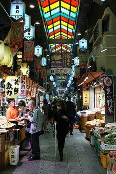 Nishiki-Ichiba Market, Kyoto, Japan