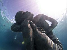 océano atlas jason Decaires taylor escultura en bahamas
