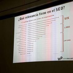 17 factores que importan en el #seo @web_escuela @semrush_es  #masterclass de #linkuilding con @Marc_Cruells  Visit www.jluislopez.es