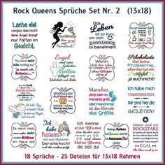 Rock Queens Sprüche Set 02 http://www.rock-queen.de/epages/78332820.sf/de_DE/?ObjectPath=/Shops/78332820/Products/2235-2