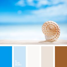 Why I love this one:  Beachy colors for a grey Monday.  Neutral but not boring.  #color #colour #colorstories