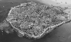 Reconstruction of the Phoenicia colony of Motiain fifth century BC.