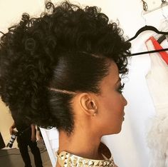 My Hairstyle Always Matches My Emotions Natural Hair Updo, Natural Hair Styles, Black Women Hairstyles, Girl Hairstyles, Protective Style Braids, Protective Styles, Protective Hairstyles, Curly Hair Styles, Pelo Afro