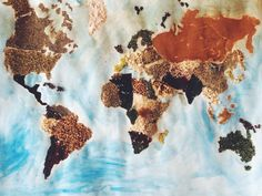 map out of spices