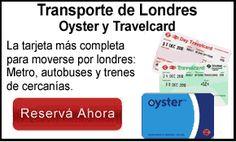 Oyster o Travelcard Transporte de Londres